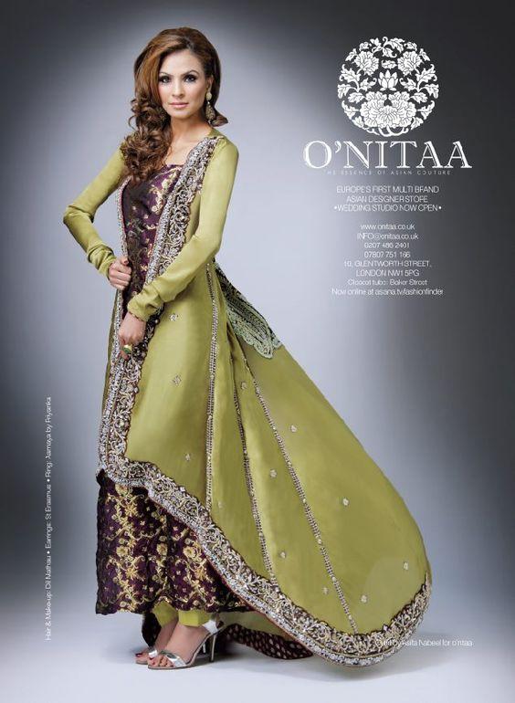 Pakistani Party Dresses  Designers Party Wear Designs 2013 Summer ...
