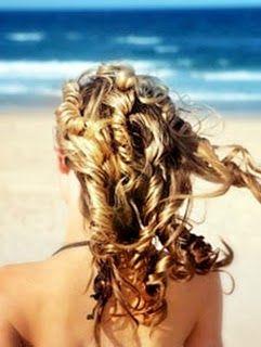 beach hair... Love it!
