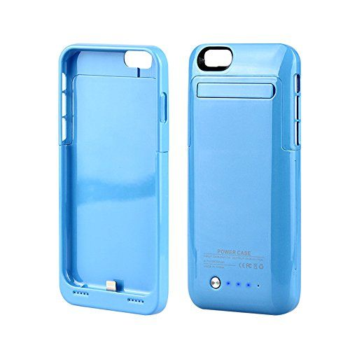 Muze-For iphone 6 External Power Case, Slim Backup External Iphone 6 Battery Pack Rechargeable Charger Case Battery Extender Case for Iphone 6 4.7 Inch with Built-in Kick Stand Retail Packing (for iphone 6/Blue/1pcs) Kujian http://www.amazon.co.uk/dp/B00PUAPCO4/ref=cm_sw_r_pi_dp_vnKFvb021K73N