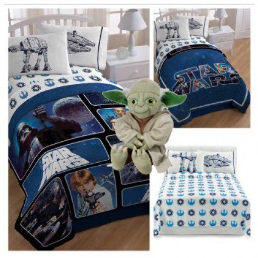 In honor of the Star Wars reboot, here's how to transform your child's bedroom into a Star Wars themed masterpiece.