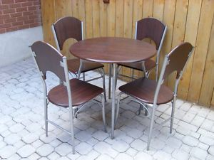 4 Sets of Indoor Round Bistro Tables + 4 Chairs For Sale! Mississauga / Peel Region Toronto (GTA) image 1