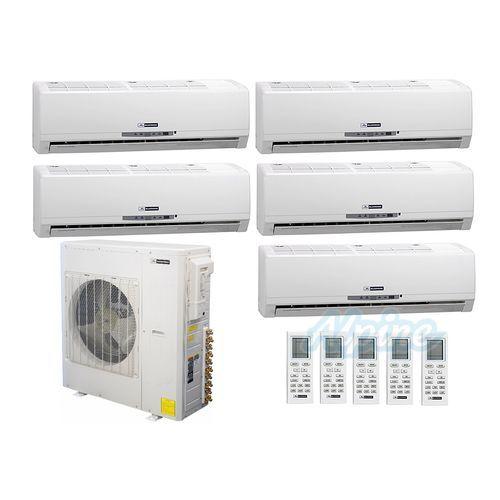Bmkh42 5 Wall Heat Pump System Ductless Mini Split Heat Pump