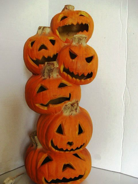 halloween foam pumpkin crafts