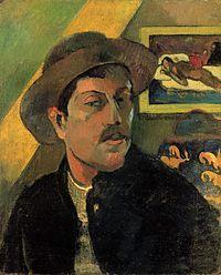 Paul Gauguin - Autorretrato (1893) Museo de Orsay, París