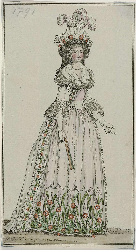 Journal des Luxus und der Moden, december 1791, Georg Melchior Kraus, 1791