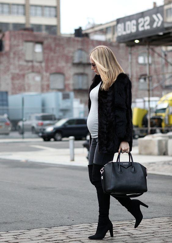 Maternity style, gap body tee