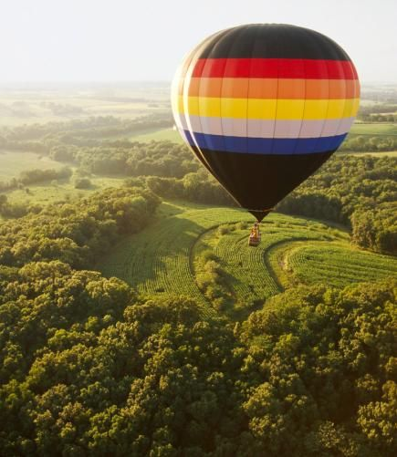 National Balloon Classic: Week long festival in Indianola, Iowa