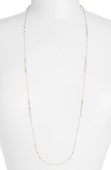Alainn Crystal Station Necklace available at #Nordstrom