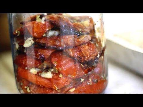 Como hacer Tomates Secos - Rapida Receta de Verano - YouTube