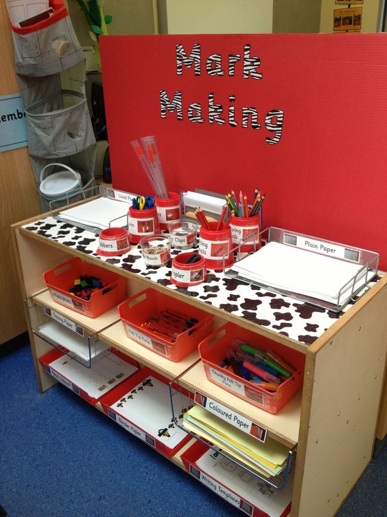 Classroom Ideas Early Years : Writing area classroom pinterest paper felt and