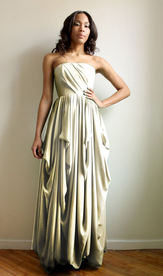 Check out the deal on Charline -silk gown at Eco First Art