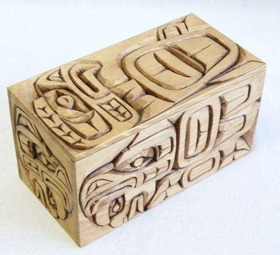 Kwakukitl nation artist jimmy joseph wood carving
