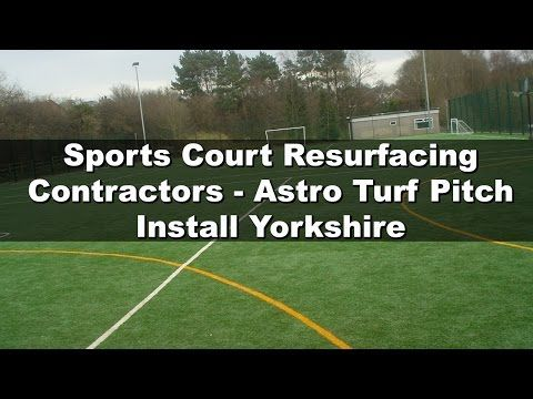 Sports Court Resurfacing Contractors - Astro Turf Pitch