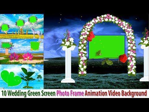 10 Wedding Green Screen Photo Frame Animation Video