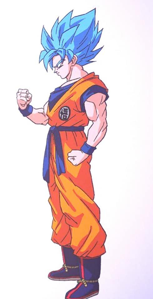 Super Saiyan Blue Goku Shintani Style Dragon Ball Super