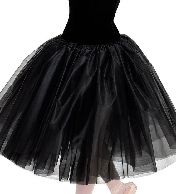 Curtain Call Costumes® - Romantic Stiff Tricot Skirt