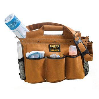Daddy Builder Diaper Bag