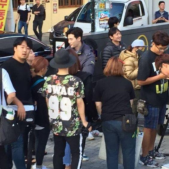 Aug.30.2016 #Leejongsuk  Filming #WTwoWorlds  Cr: 鹿港警察