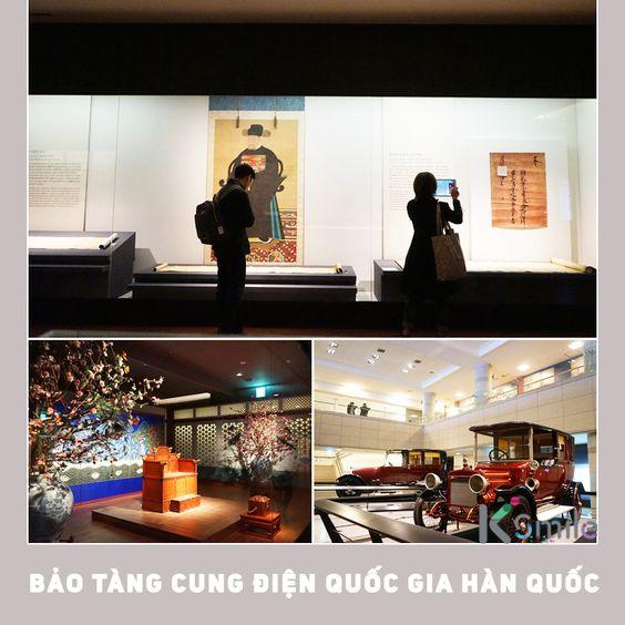 Bảo tàng cung điện quốc gia Hàn Quốc Ảnh: visitkorea.org.vn