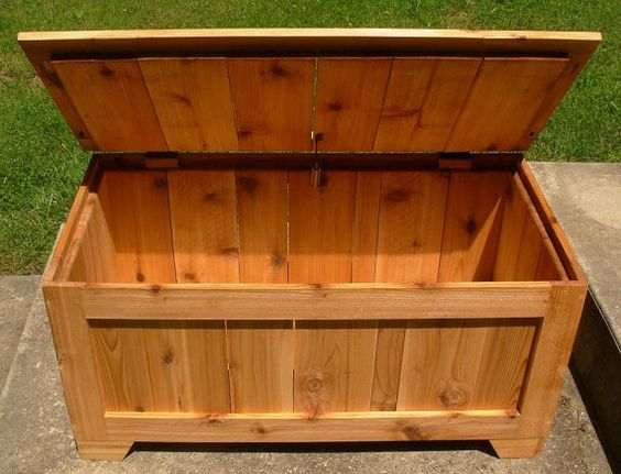 This heirloom quality toy box is made from reclaimed cedar fencing and will hold a large amount of the little ones treasures. It has a safety hinge