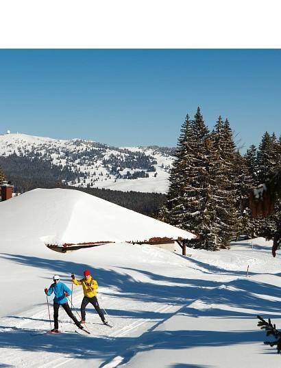 Le Jura, le paradis du ski nordique | Jura, France | Photo Stéphane Godin/Jura Tourisme | #JuraTourisme