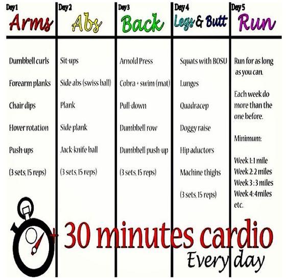 30 Minute Cardio everyday