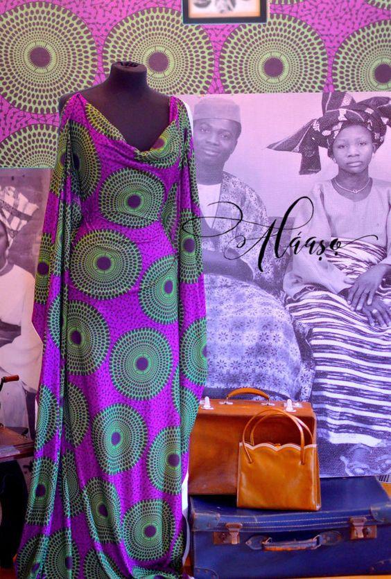 Ankara Scuba Fabric African Print Stretch by TheFabricMintLondon