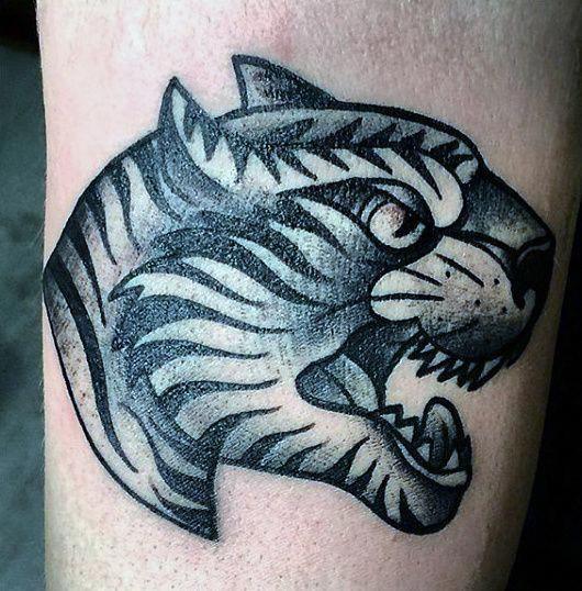 Small Tiger Men S Tattoos Menstattoos Tattoos For Guys Tiger Tattoo Design Tattoo Designs For Girls