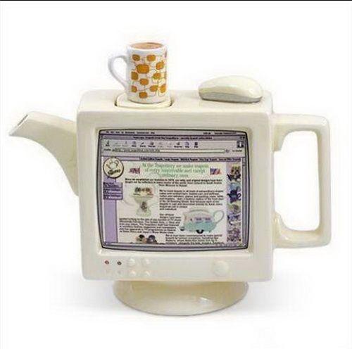 Computer teapot