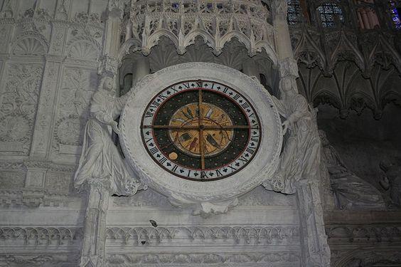 Cathédrale de Chartres - l'horloge astronomique