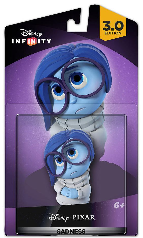 Disney Infinity 3.0 Edition Inside Out Sadness Toy Brand New in Box and Sealed by entertainmentplace on Etsy