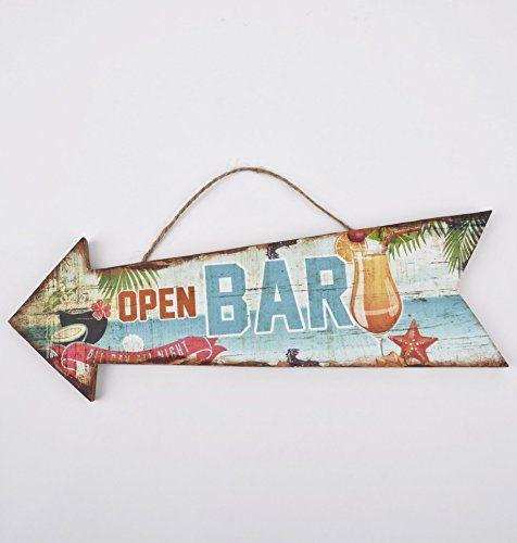 Wandschild Beach Bar Tropical Design MDF 10x30cm bunt Kun... https://www.amazon.de/dp/B01GNEJRO6/ref=cm_sw_r_pi_dp_cXlDxbSWF813A