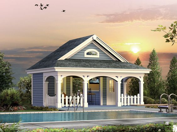 luxury pool guest house designs cabana house plans over 5000 house plans