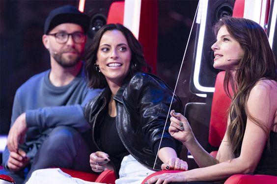 The Voice Of Germany Sie Ist Nur Dank Corona Als Coach Dabei Yvonne Catterfeld The Voice Catterfeld