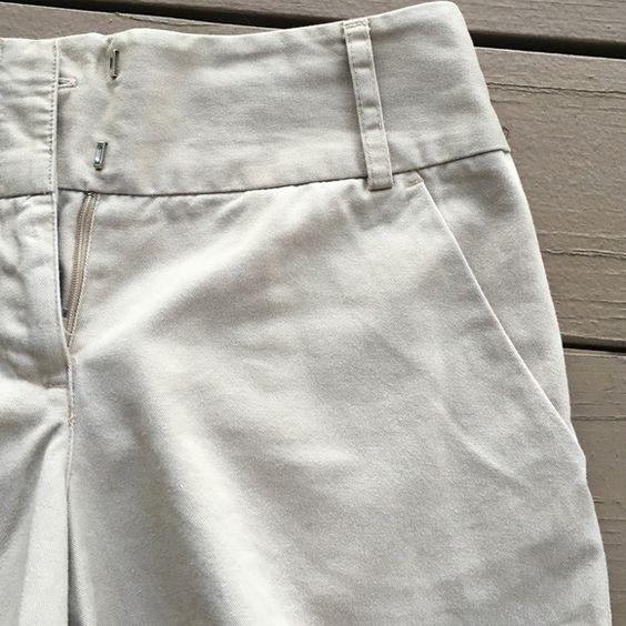 Khaki Shorts!! NY&C khaki shorts. Great condition, gently worn, no signs of wear! New York & Company Shorts
