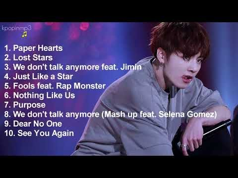 Bts Jungkook English Songs Cover Compilation Youtube Jungkook Songs Songs Cover Songs