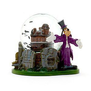 Disneyland Paris - Phantom Manor Goofy Schneekugel