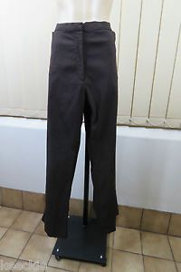 Plus Size 5XL 26 Sara Ladies Brown Dress Pants Business Office Cocktail Stretch   eBay