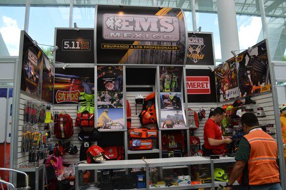 Hoy Viernes 29 Agosto,  último día EMS Mexico en  Expo Bombero 2014 los seguimos esperando ☺ Arteaga,Coahuila.  EMS México | Equipando a los Profesionales