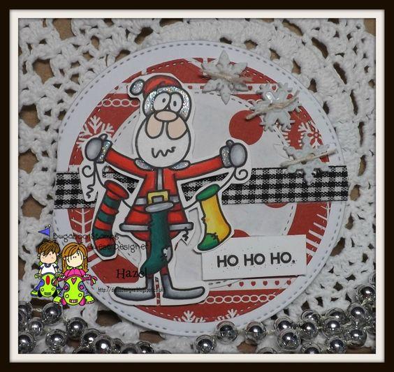 Catch The Bug Challenge Blog: Freebie Friday: Santa Stockings