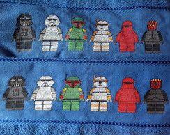 Jogo de Toalhas Lego Star Wars