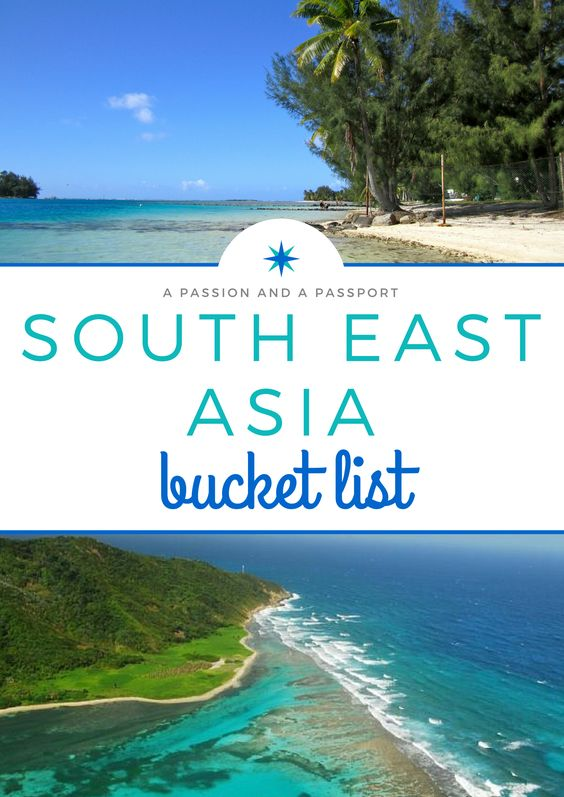 The ULTIMATE South East Asia Bucket List --> pin this before you plan your next trip!