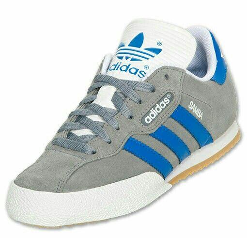 coloured adidas samba trainers