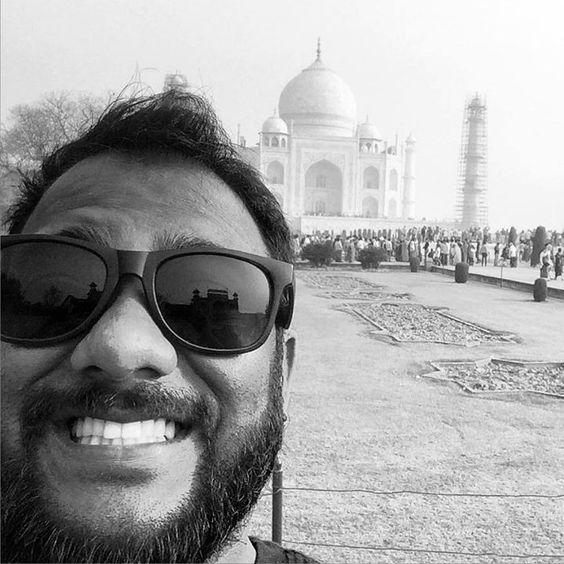 #mytajmemory Ashley at Taj Mahal by mr_ash #IncredibleIndia #tajmahal