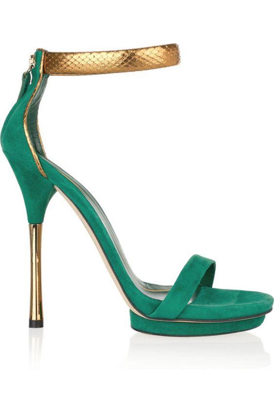 Zapatos Gucci Verdes