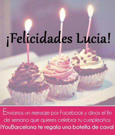 ¡Felicidades Lucia! #YouBarcelona