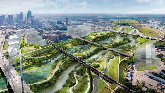 Dallas' $600 million park is over 11 times as large as Central Park