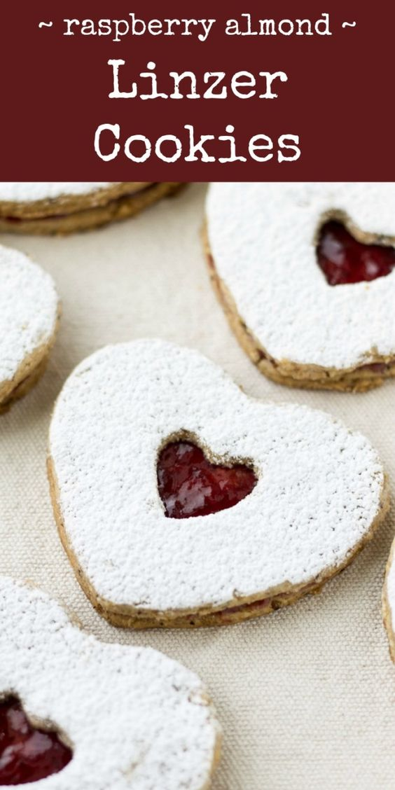 A traditional confection of Austria, Linzer Cookies have a crisp, buttery base topped with tart raspberry jam. They are fun to make, especially with kids!