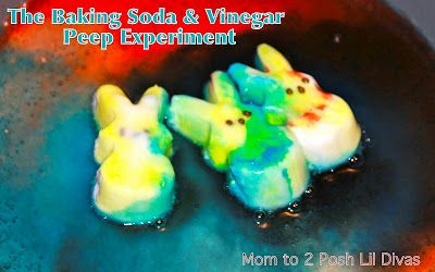 Science experiments with peeps