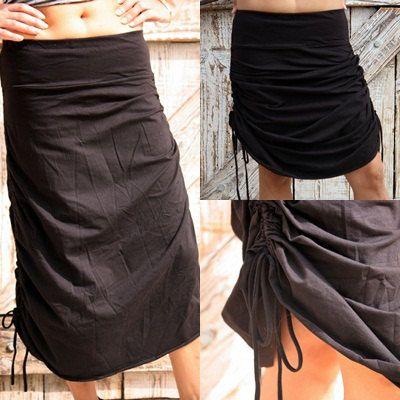 Special long skirt, adjustable skirt, maxi skirt. $35.00, via Etsy.